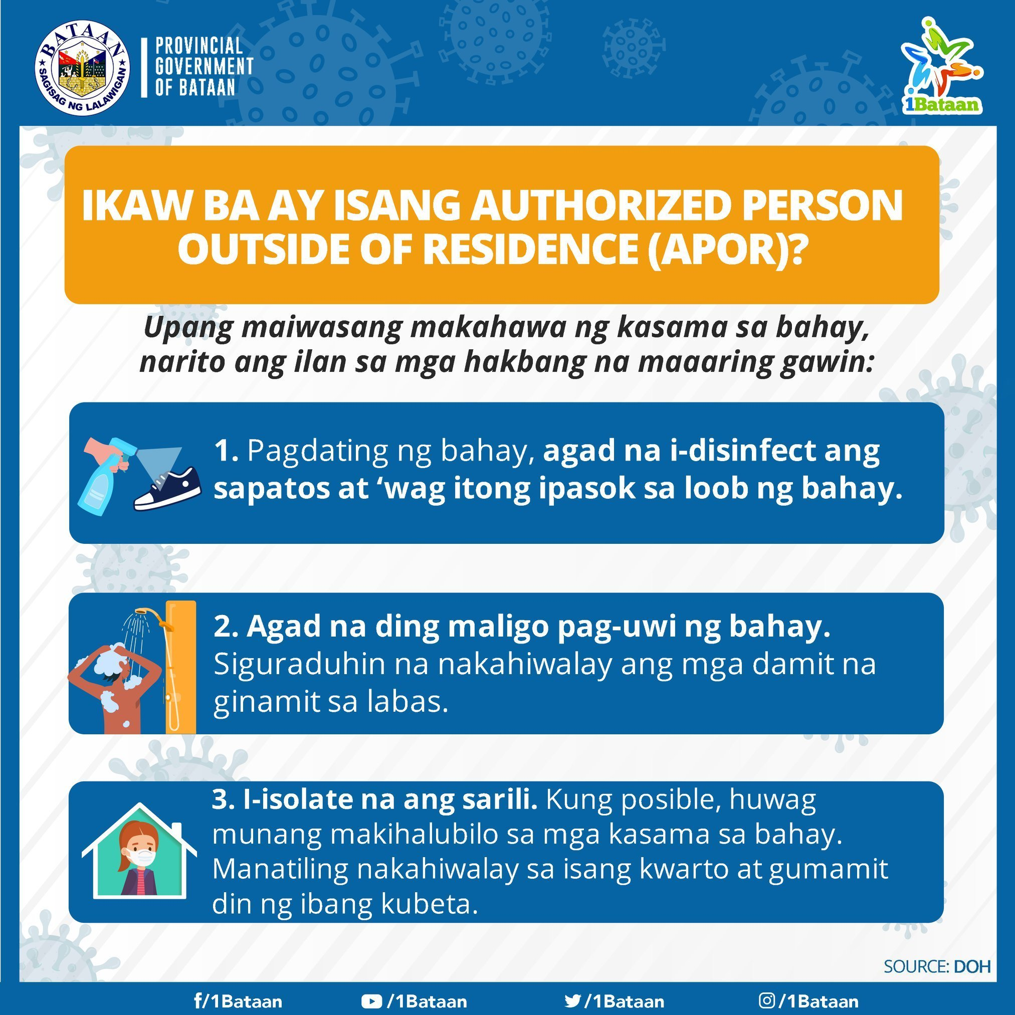 Ikaw ba ay Authorized Person Outside Residence? -